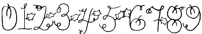 Pumpkin Font OTHER CHARS