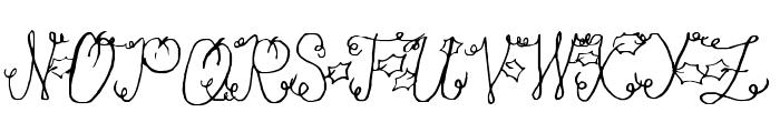 Pumpkin Font UPPERCASE