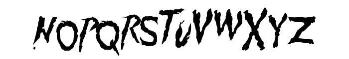 Pumpkinhead DEMO Font LOWERCASE