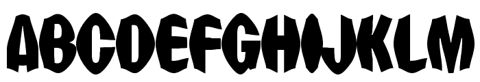 Punch Drunk Font UPPERCASE