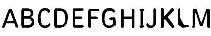 Pungen Font UPPERCASE