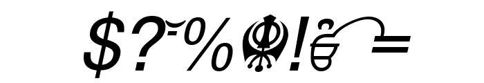 Punjabi  Italic Font OTHER CHARS