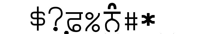 Punjabi Typewriter Old Font OTHER CHARS