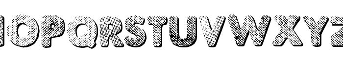Punk Dots Font UPPERCASE