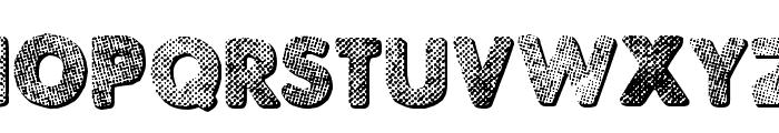 Punk Dots Font LOWERCASE