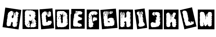 Punk Survival Font UPPERCASE