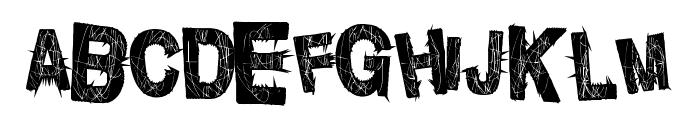 PunkInside Font UPPERCASE