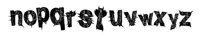 PunkInside Font LOWERCASE