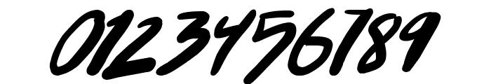 Punkboy Italic Font OTHER CHARS
