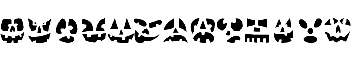 Punkinhead Font LOWERCASE