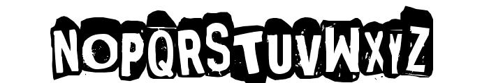 Punksnotdead Font UPPERCASE