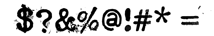 Punktype Font OTHER CHARS