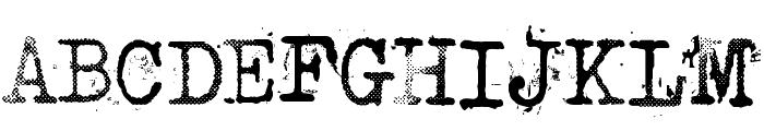 Punktype Font UPPERCASE