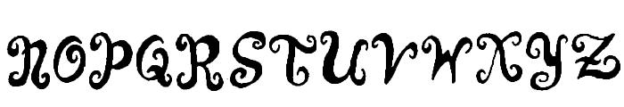 Punquin Crazy Pants Font UPPERCASE