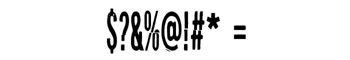 Puolelta toiselle Font OTHER CHARS