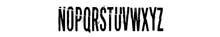 Puolelta toiselle Font LOWERCASE