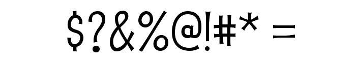 PupcatRg-Regular Font OTHER CHARS