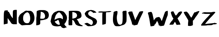 Pupil Caligraphic Font UPPERCASE