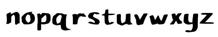 Pupil Caligraphic Font LOWERCASE