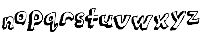 Puppy_paws Font LOWERCASE