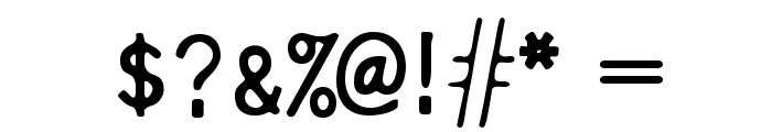 Pure-Capital Font OTHER CHARS