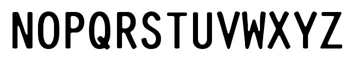 Pure-Capital Font UPPERCASE