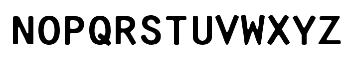 Pure-Capital Font LOWERCASE