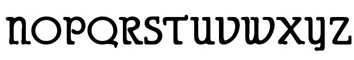 Puritan Alternate Bold Font UPPERCASE