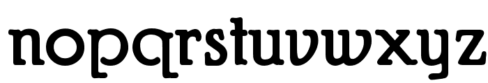 Puritan Alternate Bold Font LOWERCASE