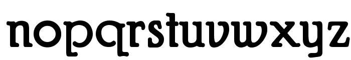 Puritan Swash Bold Font LOWERCASE