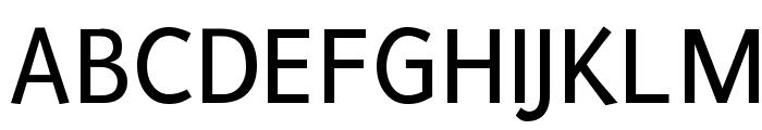 Puritan Font UPPERCASE