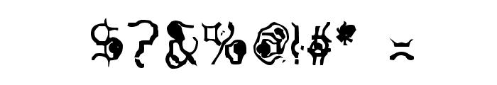 Purple Burple Font OTHER CHARS