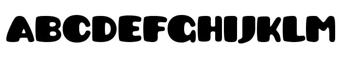 Pusab Font LOWERCASE