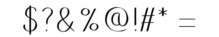 Putumayo Font OTHER CHARS