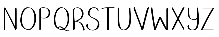 Putumayo Font UPPERCASE