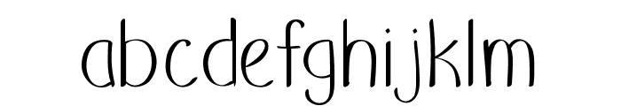 Putumayo Font LOWERCASE