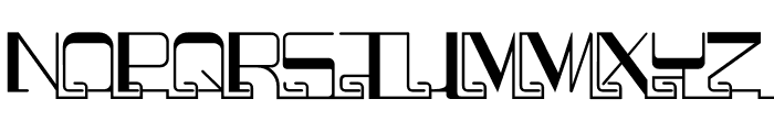 Puzzelle Tr Font LOWERCASE