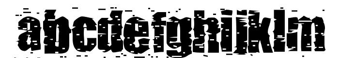 pUNKASSBITCH Font LOWERCASE