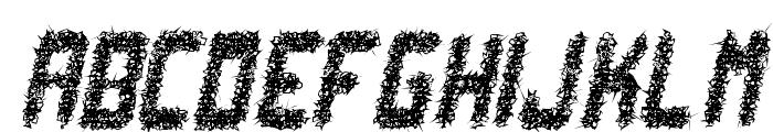 punk not dead tfb Font LOWERCASE
