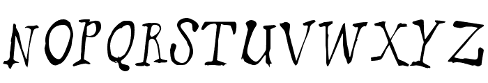 puppetFace Font UPPERCASE