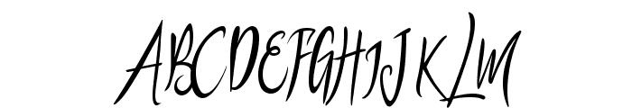 puralova Regular Font UPPERCASE