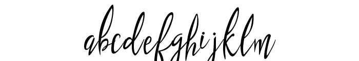 puralova Regular Font LOWERCASE