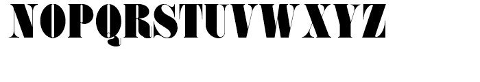 Pudgy Puss NF Regular Font UPPERCASE