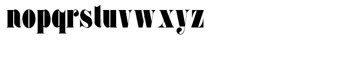 Pudgy Puss NF Regular Font LOWERCASE