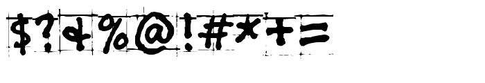 PuffiClaude BT Regular Font OTHER CHARS
