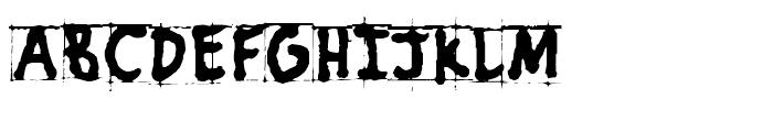 PuffiClaude BT Regular Font UPPERCASE
