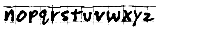 PuffiClaude BT Regular Font LOWERCASE
