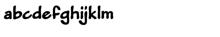 Pumpkinseed Black Font LOWERCASE