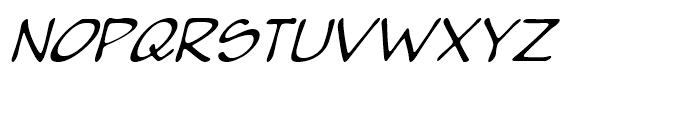 Pumpkinseed Medium Oblique Font UPPERCASE
