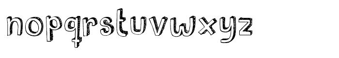 Pusekatt Regular Font LOWERCASE
